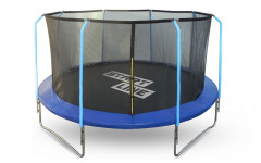 Батут 12 футов (366 см) с внутренней сеткой и держателями