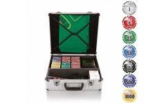 Набор для игры в покер и блэк-джек Nuts+ на 600 фишек