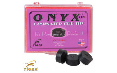 Наклейка для кия Tiger Onyx Ltd ø14мм Medium 1шт.