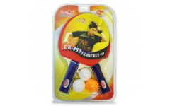 Набор теннисный ракетки Double Fish 2шт, мячи CK-303 3шт