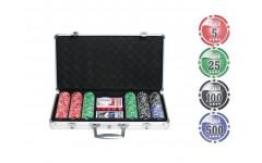 Набор для покера NUTS на 300 фишек