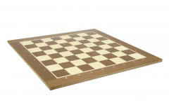 Шахматная доска нескладная 50мм, орех