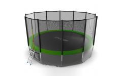 Батут EVO JUMP External 16ft (Green) + Lower net