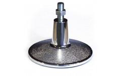 Комплект опор регулируемых / пул хром D 19 см