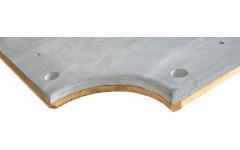 Плита «Premium-Quality Rasson» 8 ф (25 мм, 3-pc) пул, с подложкой