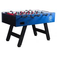 Настольный футбол (кикер) «Milan» (144 х 75,6, х 90 см, сине-черный)
