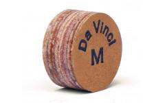 Профессиональная наклейка на кий из  свиной кожи, 5 слоев, метод ламинации, Longoni Renzline Da Vinci 13 мм, M