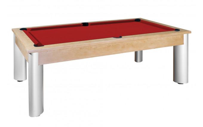 Бильярдный стол для пула «Toledo» 7 ф (дуб) со столешницей, в комплекте аксессуары, плита 19mm 1 pc + сукно